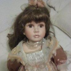 Muñecas Porcelana: MUÑECA DE PORCELANA. Lote 115552843