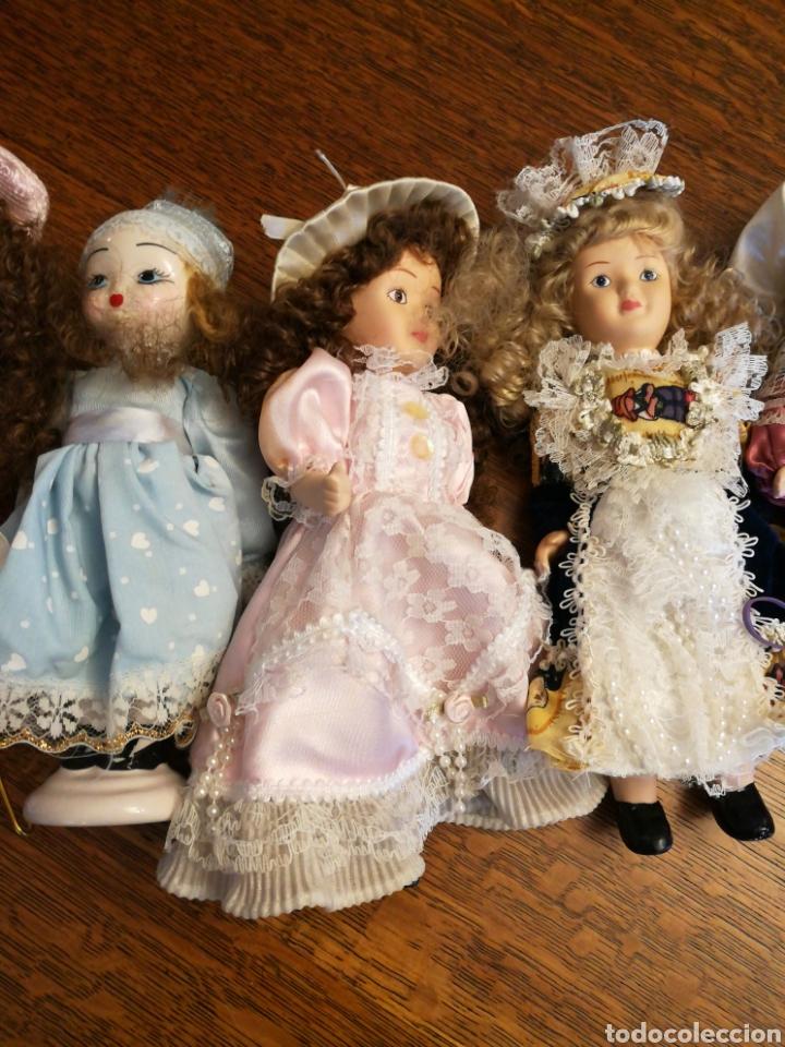 Muñecas Porcelana: Ocho muñecas antiguas de porcelana y dos modernas de cerámica. - Foto 3 - 115559814