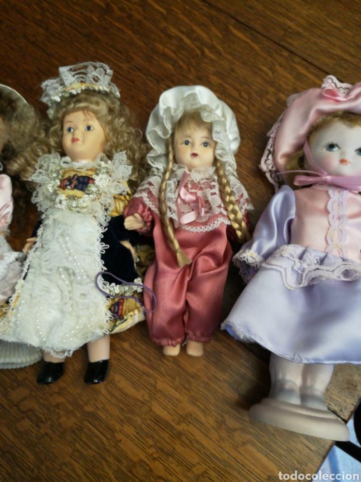Muñecas Porcelana: Ocho muñecas antiguas de porcelana y dos modernas de cerámica. - Foto 4 - 115559814