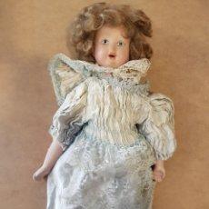 Muñecas Porcelana: MUÑECA PORCELANA ALEMANA AÑOS 30. 50 CM.. Lote 133218934
