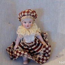 Muñecas Porcelana: MUÑECA TODA EN PORCELANA, CON 10CM. Lote 116949111