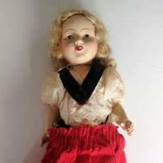 Muñecas Porcelana: MUÑECA PORCELANA AÑOS SESENTA. Lote 117264063