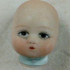 Muñecas Porcelana: CABEZA DE BEBÉ DE PORCELANA. Lote 117329456