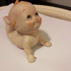 Muñecas Porcelana: PRECIOSO MUÑECO KEWPIE ANTIGUO DE BISCUIT LEFTON. ORIGINARIO JAPÓN FIRMADO. RAREZA. Lote 117245307