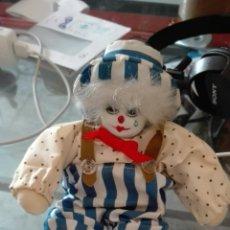 Muñecas Porcelana: PAYASO DE PORCELANA. Lote 118234286