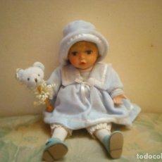 Muñecas Porcelana: MUÑECA DE PORCELANA CON MUSICA. Lote 118378523