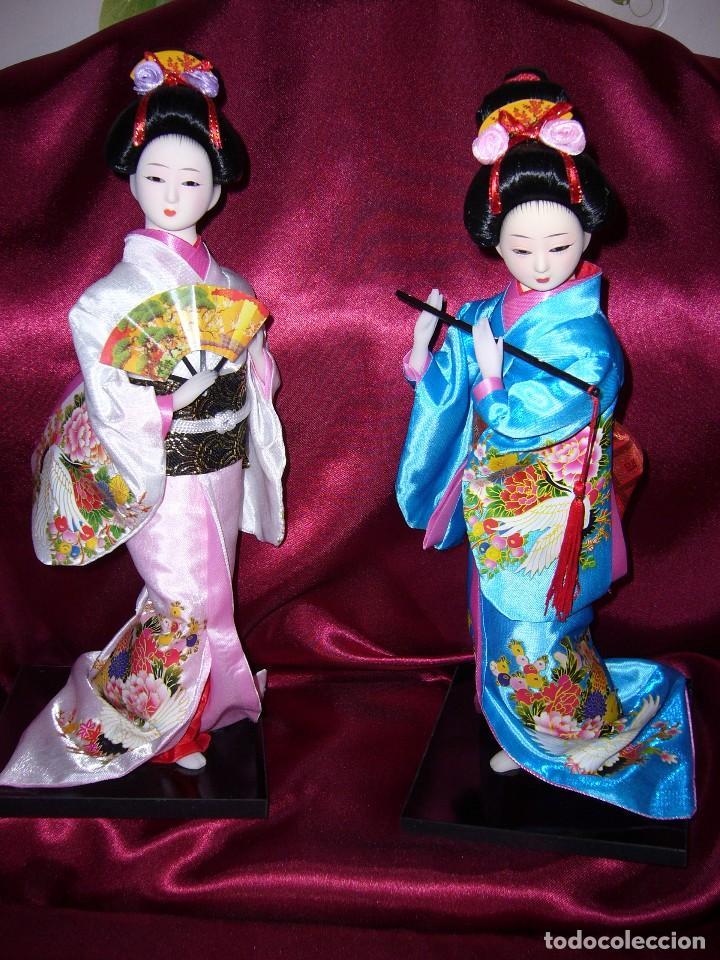 NUEVA-ORIENTAL-JAPONESA-MUÑECA-ARTE-COLECCIÓN (Juguetes - Muñeca Extranjera Moderna - Porcelana)