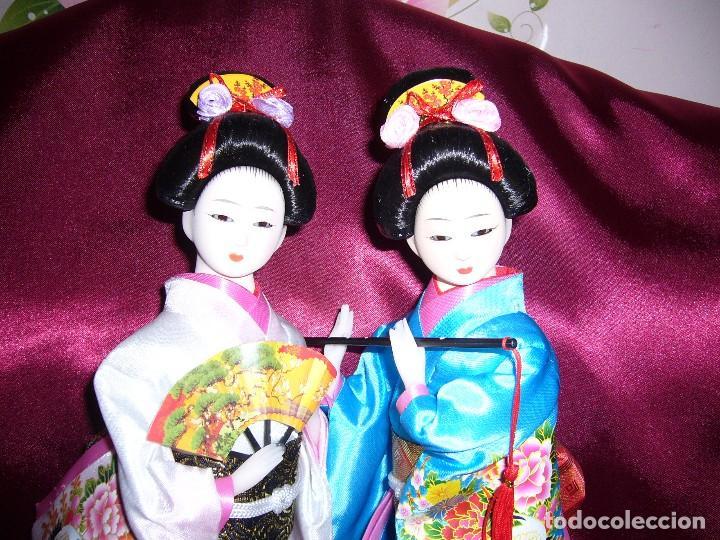 Muñecas Porcelana: NUEVA-ORIENTAL-JAPONESA-MUÑECA-ARTE-COLECCIÓN - Foto 2 - 119657907