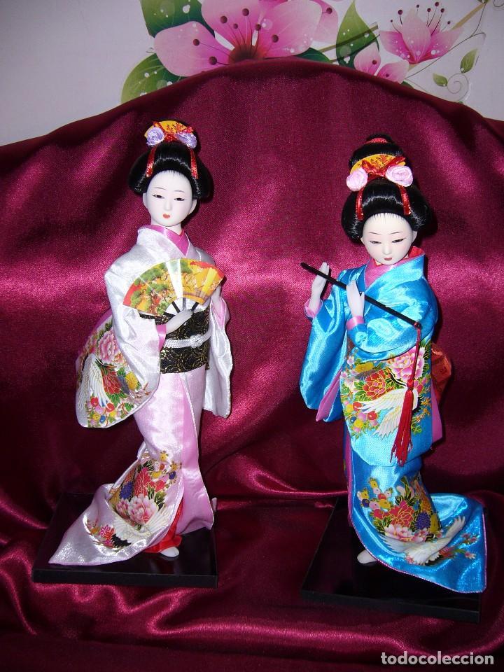 Muñecas Porcelana: NUEVA-ORIENTAL-JAPONESA-MUÑECA-ARTE-COLECCIÓN - Foto 3 - 119657907