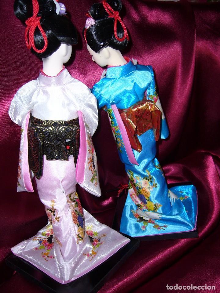 Muñecas Porcelana: NUEVA-ORIENTAL-JAPONESA-MUÑECA-ARTE-COLECCIÓN - Foto 5 - 119657907