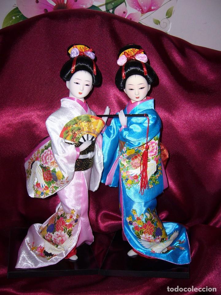 Muñecas Porcelana: NUEVA-ORIENTAL-JAPONESA-MUÑECA-ARTE-COLECCIÓN - Foto 7 - 119657907