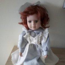 Muñecas Porcelana: MUÑECA DE PORCELANA - 27 CM DE LARGO. Lote 122750231