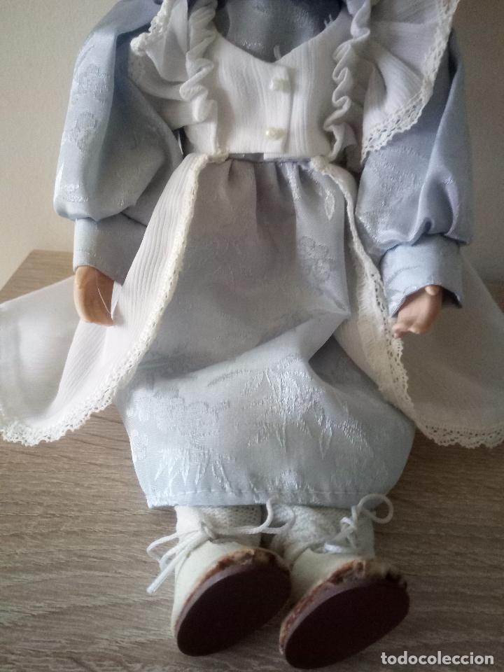 Muñecas Porcelana: MUÑECA DE PORCELANA - 27 CM DE LARGO - Foto 3 - 122750231