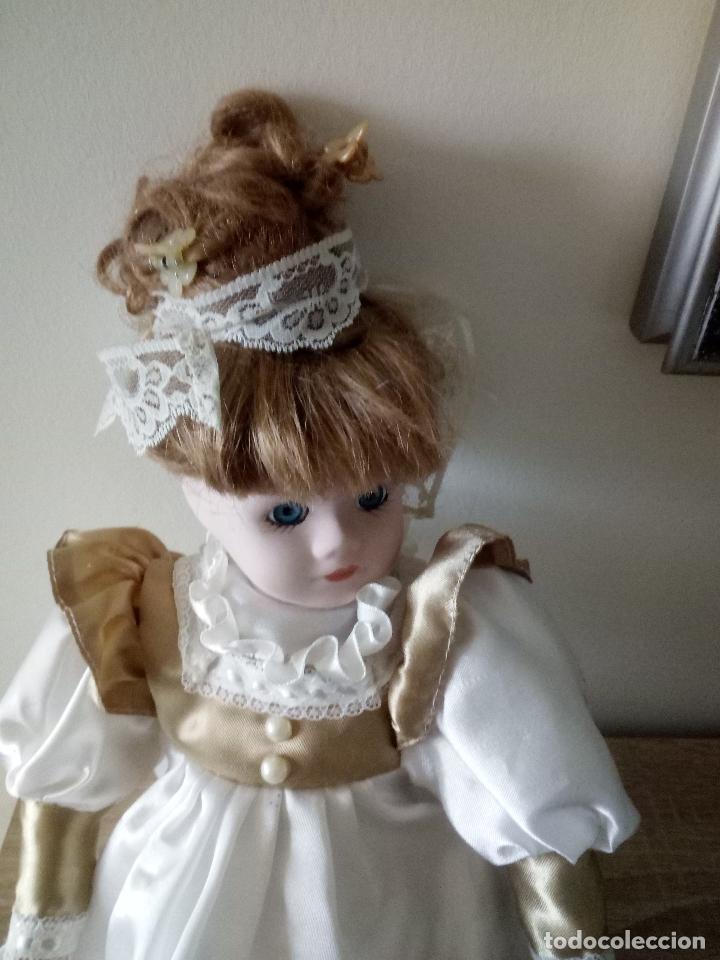 Muñecas Porcelana: MUÑECA DE PORCELANA - 39 CM. DE LARGO - Foto 2 - 122750511