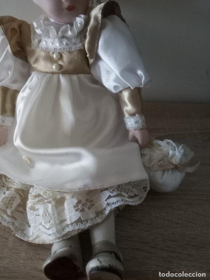 Muñecas Porcelana: MUÑECA DE PORCELANA - 39 CM. DE LARGO - Foto 3 - 122750511