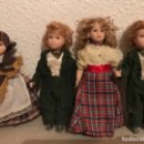 Muñecas Porcelana: LOTE DE MUÑECAS DE PORCELANA . Lote 125021075