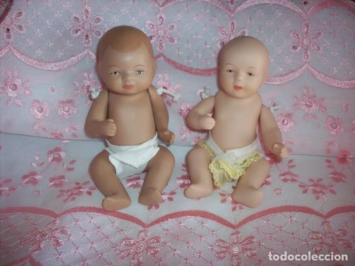 Dos Bebes De Porcelana Con Pañal Kaufen Moderne Porzellan Puppen