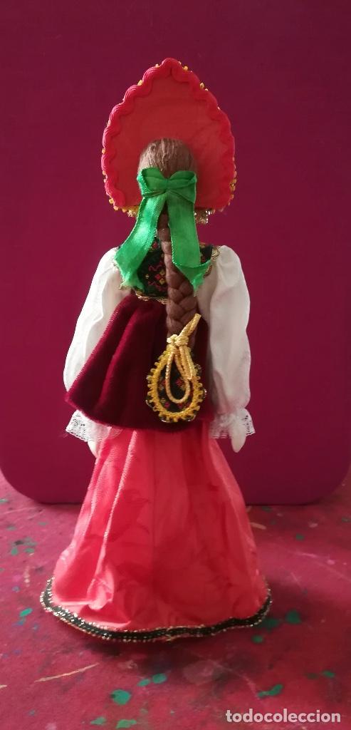 Muñecas Porcelana: MUÑECA RUSA DE PORCELANA DE BISCUIT PINTADA A MANO - Foto 2 - 126793447