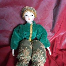 Muñecas Porcelana: MARAVILLOSA MUÑECA DE PORCELANA. Lote 126825831