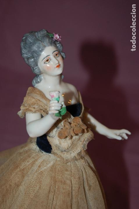 Muñecas Porcelana: dama antigua de porcelana - Foto 2 - 127784355