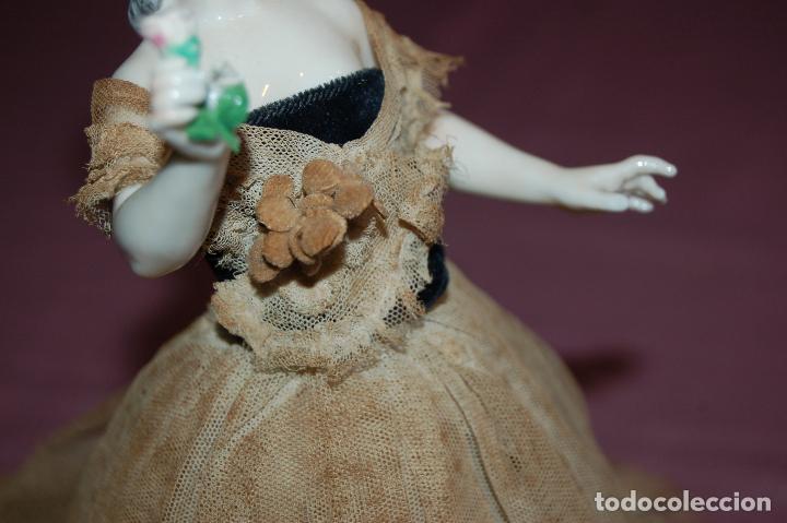 Muñecas Porcelana: dama antigua de porcelana - Foto 3 - 127784355