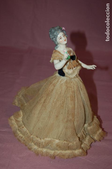 Muñecas Porcelana: dama antigua de porcelana - Foto 5 - 127784355