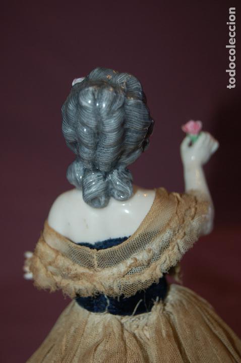 Muñecas Porcelana: dama antigua de porcelana - Foto 7 - 127784355