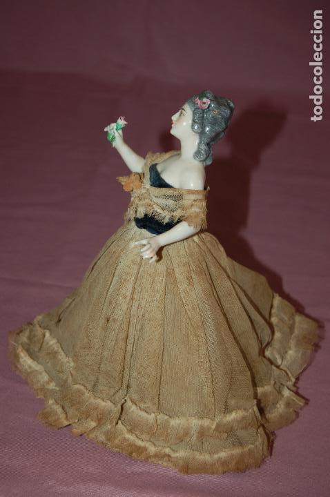 Muñecas Porcelana: dama antigua de porcelana - Foto 14 - 127784355