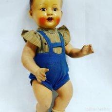 Muñecas Porcelana: MUÑEC0 DE TERRACOTA. Lote 128040995
