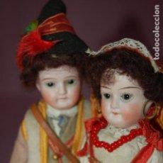 Muñecas Porcelana: PAREJA DE ITALIANOS JTALY BOCA CERRADA. Lote 128710619
