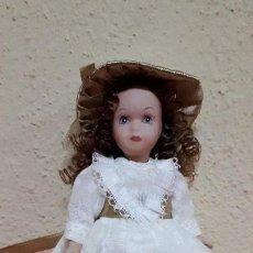 Muñecas Porcelana: MUÑECA DE PORCELANA. Lote 128911063