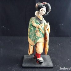 Muñecas Porcelana: MUÑECA GUEISHA - MADE IN JAPAN - P. S. XX. Lote 128989887