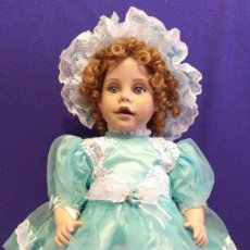 Muñecas Porcelana: MUÑECA DE 65 CM DE PORCELANA,NUEVA,ES COMO UNA NIÑA AUTENTICA. Lote 129360951