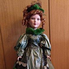 Muñecas Porcelana: MUÑECA DE PORCELANA DE 70 CM,BIEN CONSERVADA.. Lote 130247826