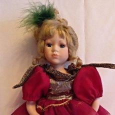 Muñecas Porcelana: MUÑECA DE PORCELANA BAILARINA DE COLECCION EN 37 CM.. Lote 130495230