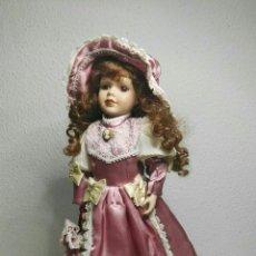 Muñecas Porcelana: MUÑECA ANTIGUA DE PORCELANA. Lote 131029051