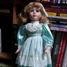 Muñecas Porcelana: MUÑECA PORCELANA . Lote 131181588