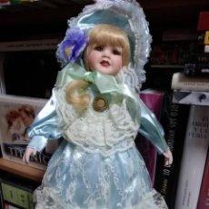 Muñecas Porcelana: MUÑECA PORCELANA . Lote 131181776