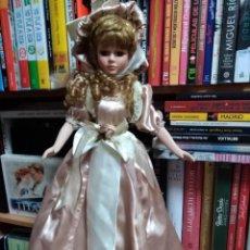 Muñecas Porcelana: PRECIOSA Y GRAN MUÑECA DE PORCELANA. Lote 131182492