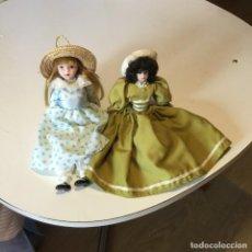 Muñecas Porcelana: MUÑECAS ANTIGUAS DE PORCELANA. Lote 131450390