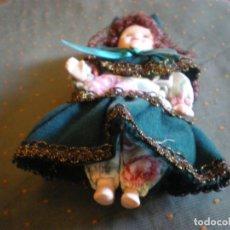 Muñecas Porcelana: MUÑECA DE CERAMICA CON TRAJE REGIONAL Y PELO EN PERFECTO ESTADO. Lote 131895750