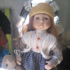 Muñecas Porcelana: MUÑECA RUSA PORCELANA. Lote 132549062