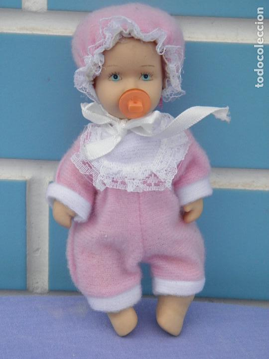 Muñecas Porcelana: Muñeco bebé de porcelana articulado - Foto 3 - 132941082