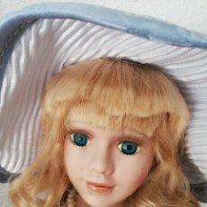 Muñecas Porcelana: MUÑECA DE PORCELANA. Lote 133357643