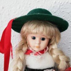Muñecas Porcelana: MUÑECA DE PORCELANA. Lote 133357875