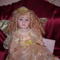 Muñecas Porcelana: MUÑECA ÁNGEL PORCELANA-COLECCIÓN-PRECIOSA-NAVIDAD-COMUNIÓN-JESÚS-CATÓLICO-MONJA-MARÍA-ASI-COLECCIÓN. Lote 133595130