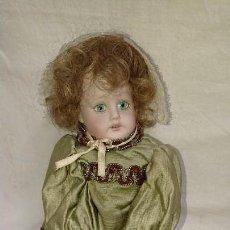 Muñecas Porcelana: ANTIGUA MUÑECA ARTICULADA DE PORCELANA - LEER DESCRIPCIÓN. Lote 133756298
