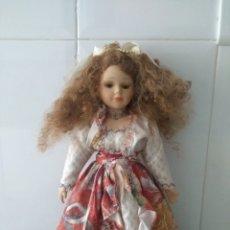 Muñecas Porcelana: MUÑECA DE PORCELANA 39CM. Lote 133790506