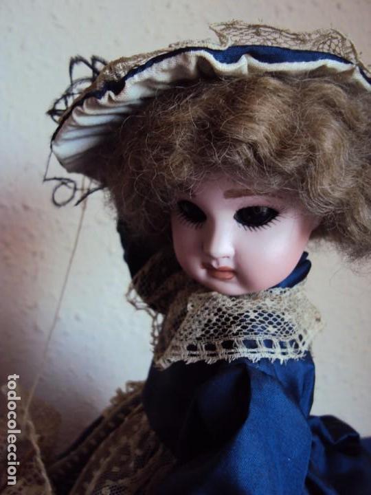 Muñecas Porcelana: (ANT-180936) autómata musical / cabeza de porcelana / años 60 - 70 - FUNCIONANDO - Foto 2 - 133908982
