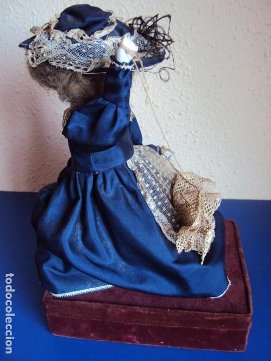 Muñecas Porcelana: (ANT-180936) autómata musical / cabeza de porcelana / años 60 - 70 - FUNCIONANDO - Foto 6 - 133908982